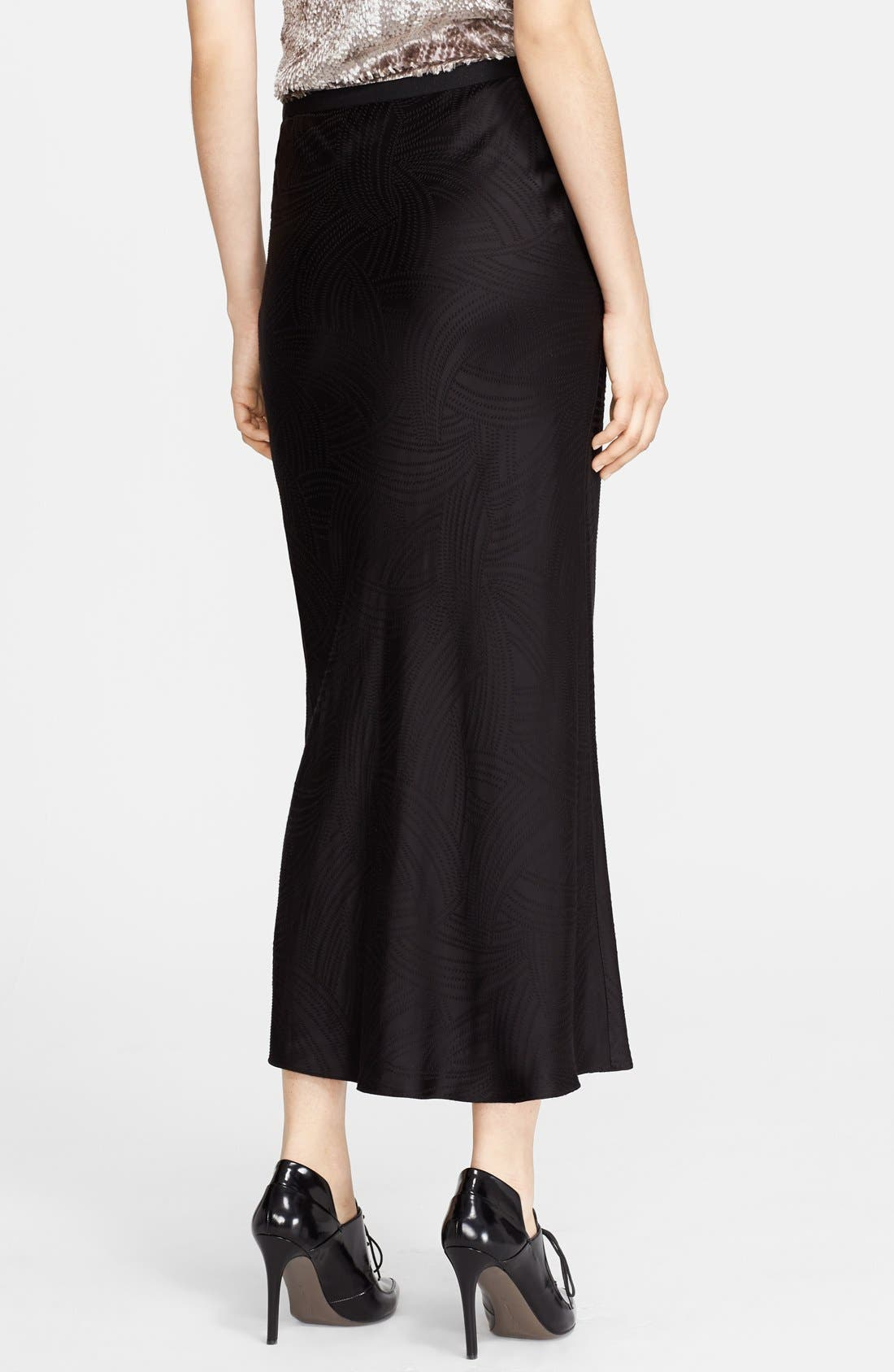 Alternate Image 2  - Jason Wu Jacquard Midi Skirt