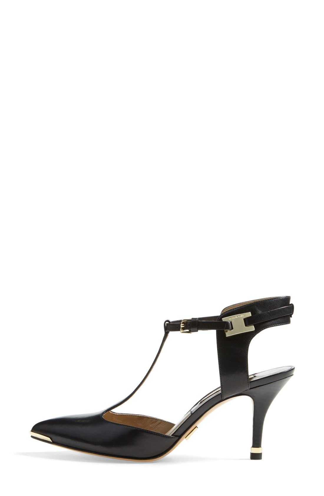 Alternate Image 4  - Michael Kors 'Silvia' T-Strap Pump (Women)