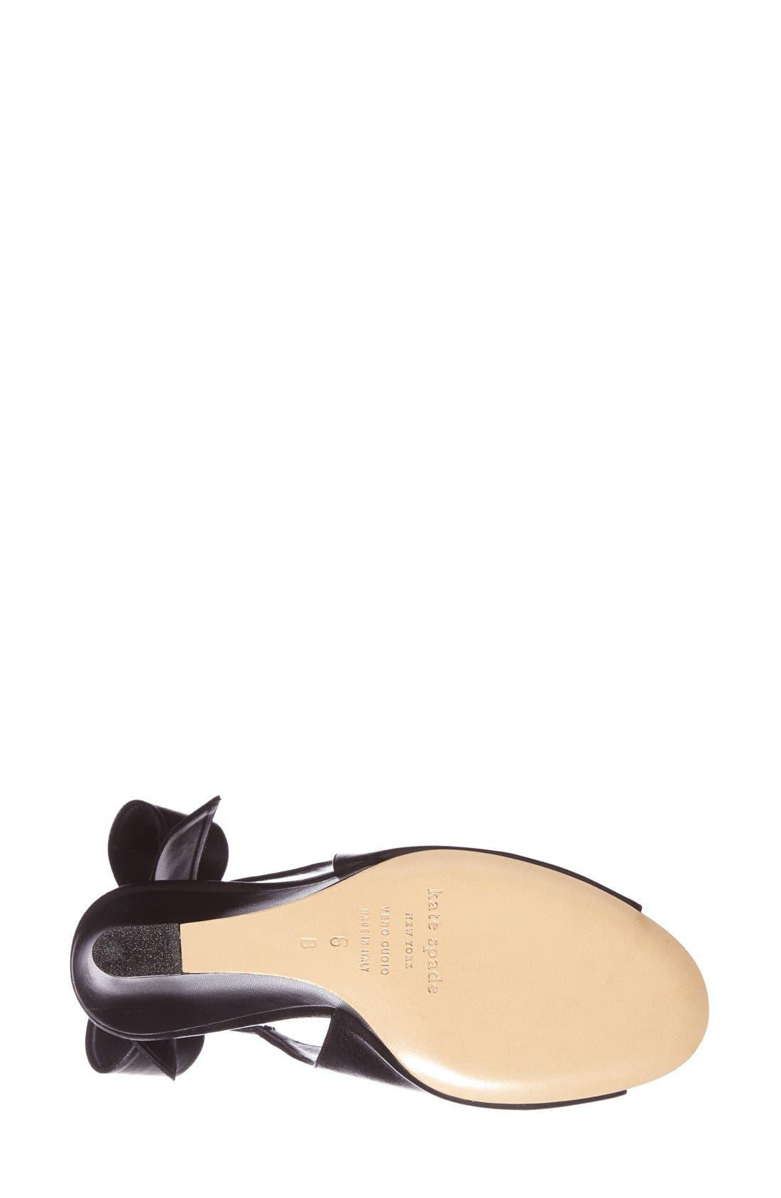 Alternate Image 3  - kate spade new york 'ira' slingback sandal (Women)