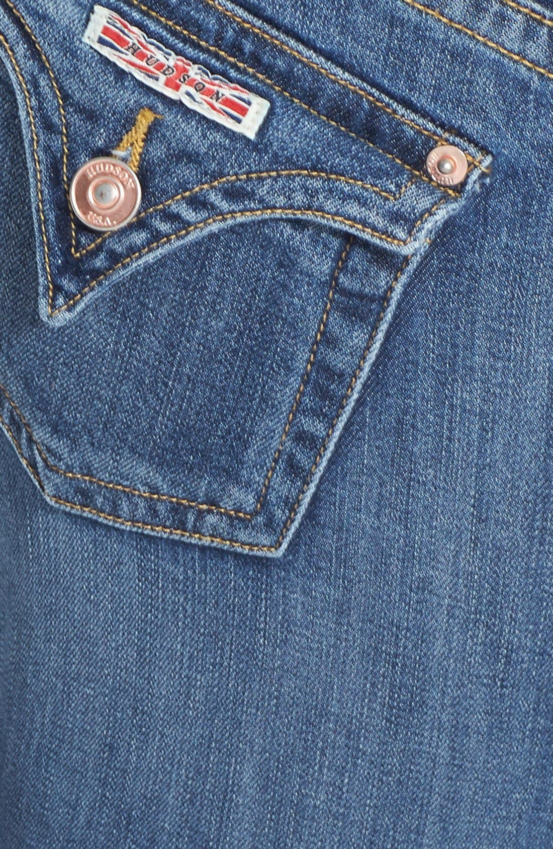 Alternate Image 3  - Hudson Jeans 'Signature' Bootcut Jeans (Hackney) (Petite)