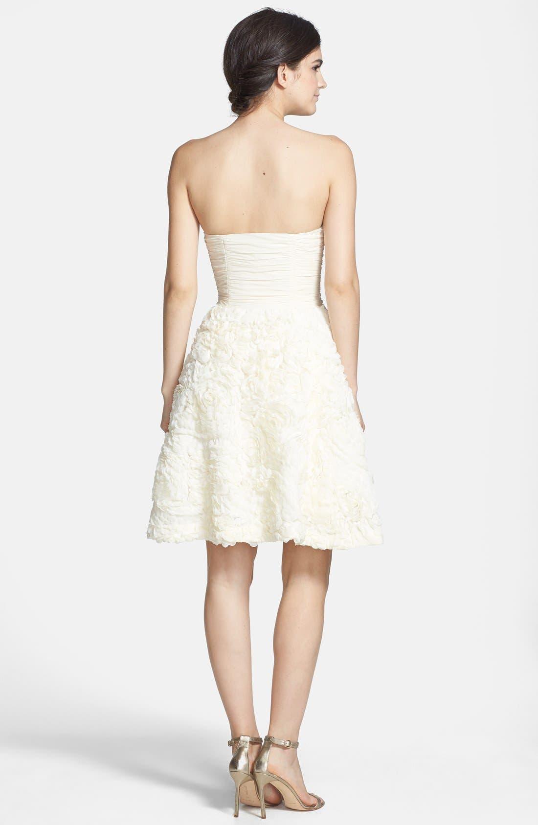 Alternate Image 2  - Ted Baker London 'Flawra' Rosette Detail Fit & Flare Dress