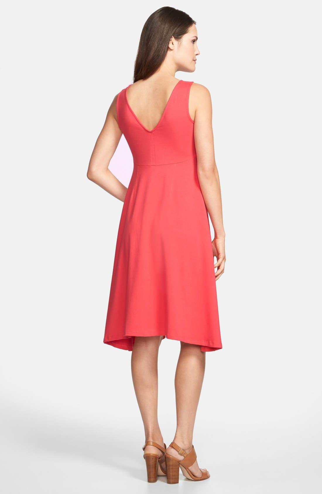 Alternate Image 2  - Eileen Fisher Sleeveless Jersey Dress