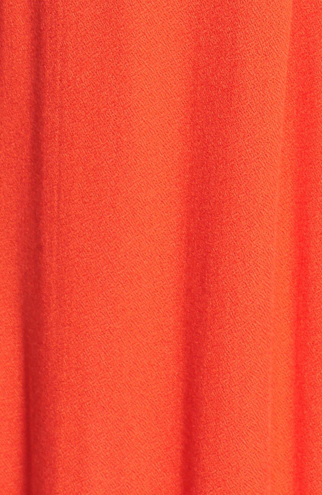 'Stella' Colorblock Maxi Dress,                             Alternate thumbnail 3, color,                             Persimmon