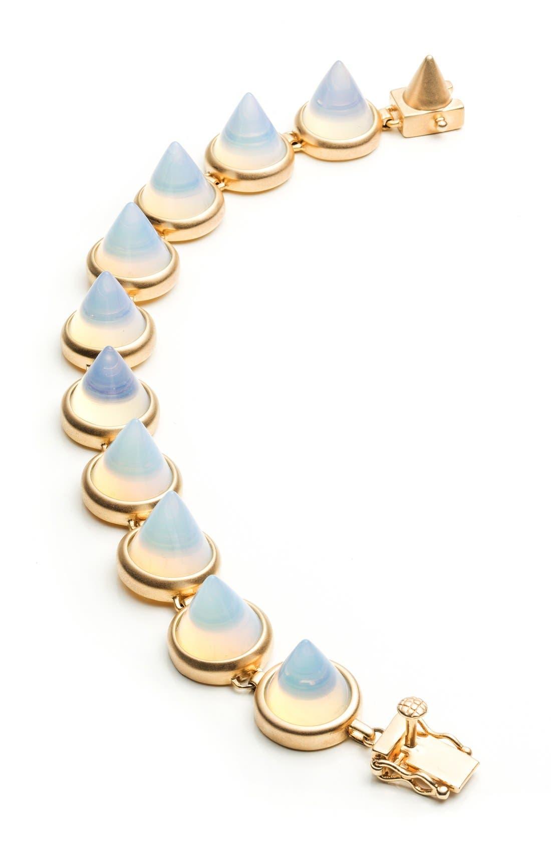 Alternate Image 1 Selected - Eddie Borgo Semiprecious Stone Cone Bracelet