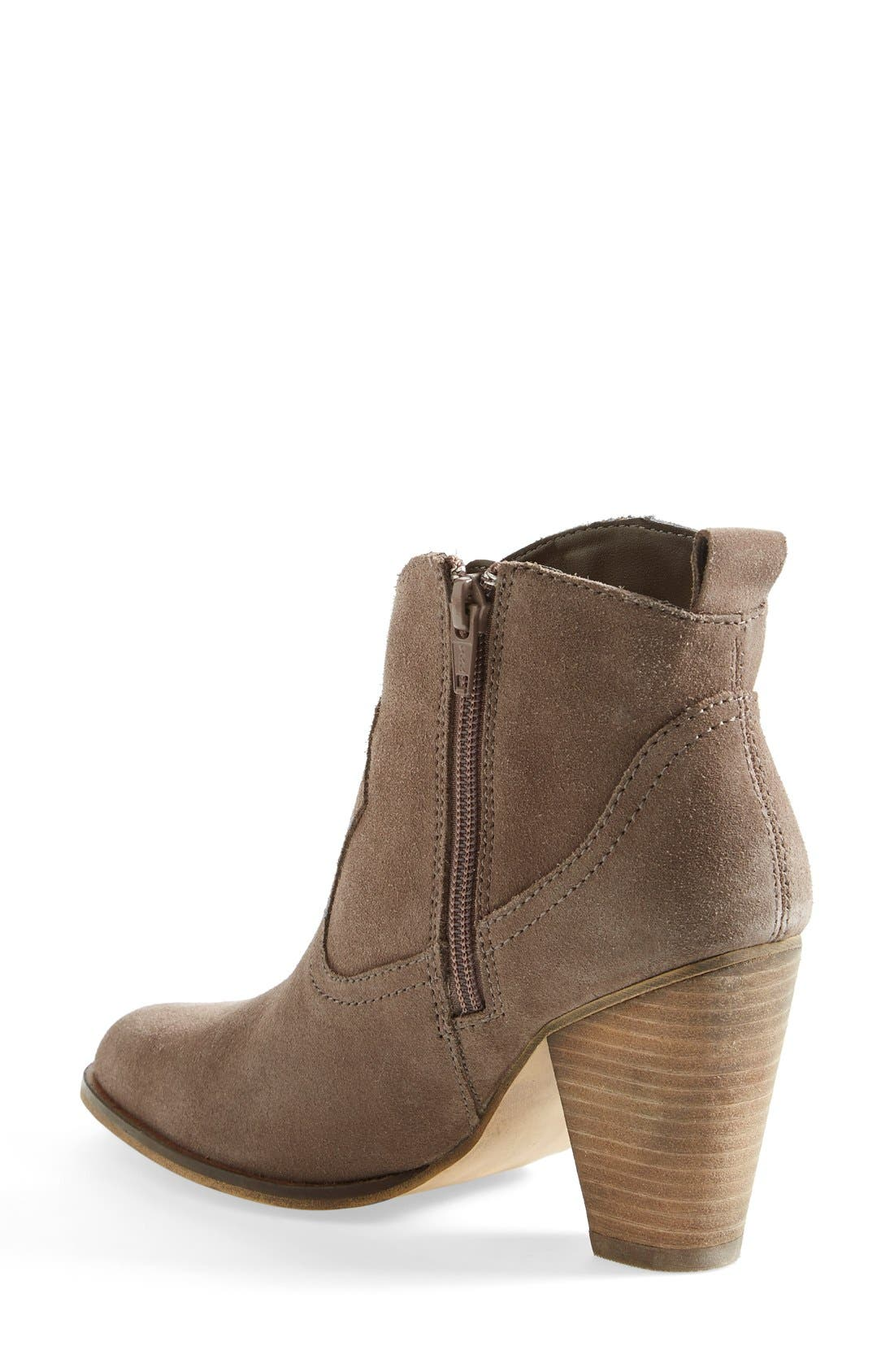 'Plover' Bootie,                             Alternate thumbnail 2, color,                             Taupe