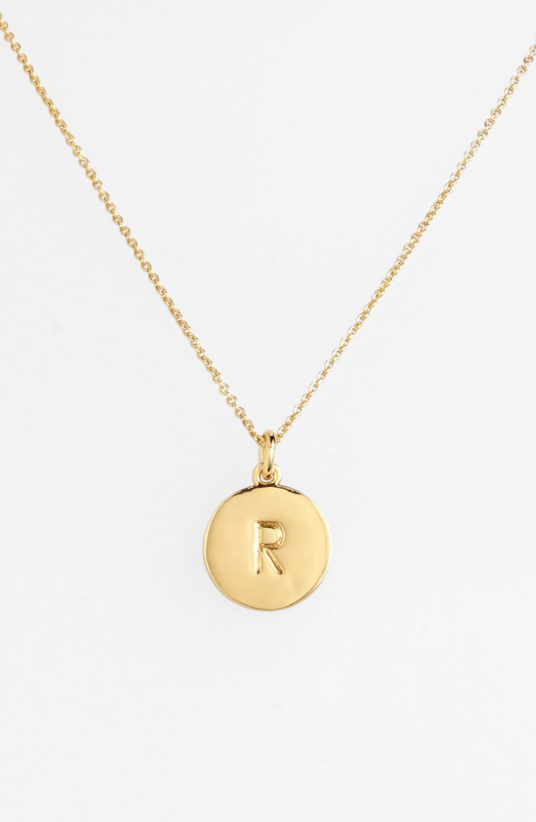 Womens necklaces kate spade new york one in a million initial pendant necklace mozeypictures Image collections