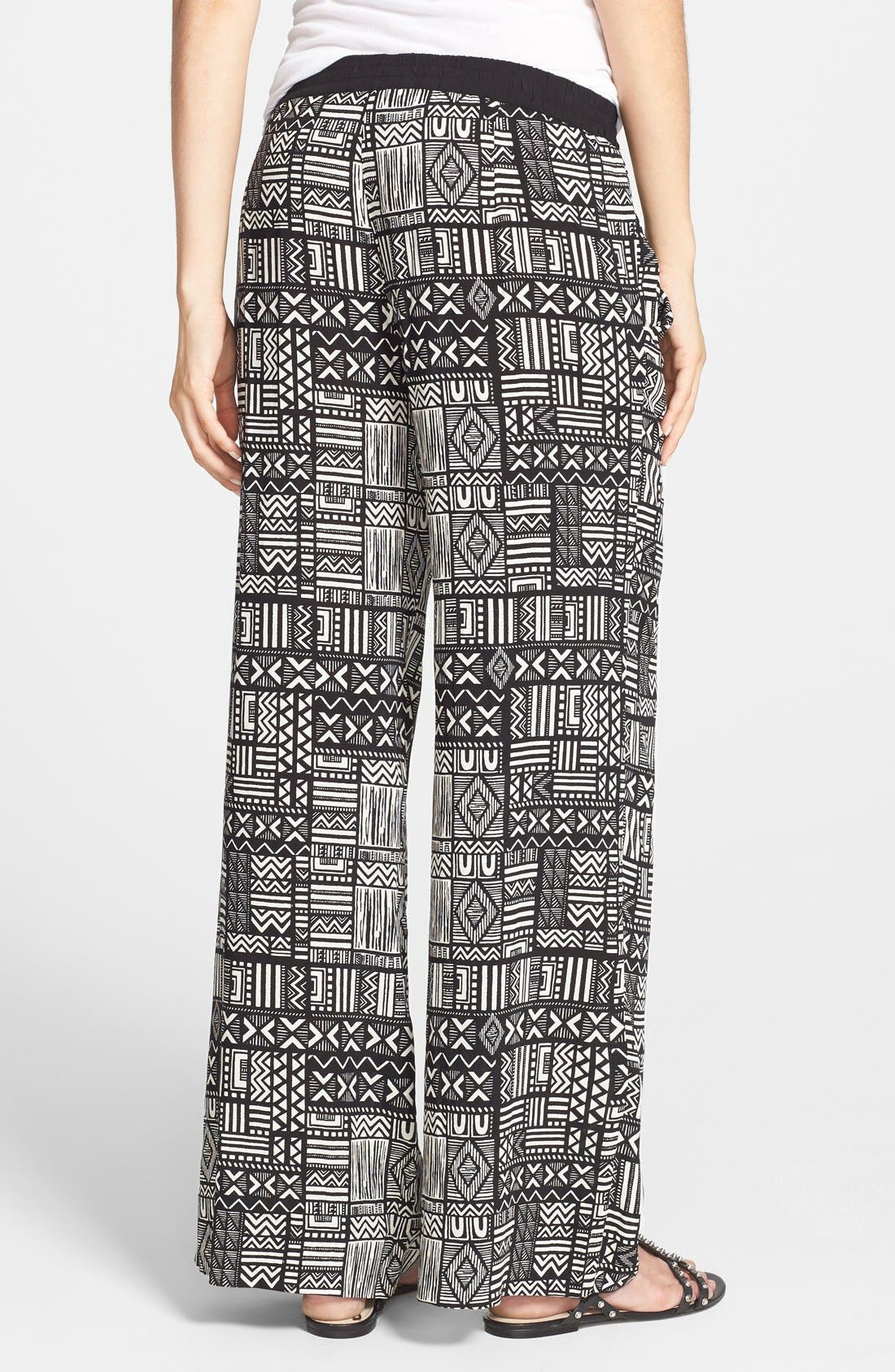 Alternate Image 2  - Sanctuary Print Palazzo Pants