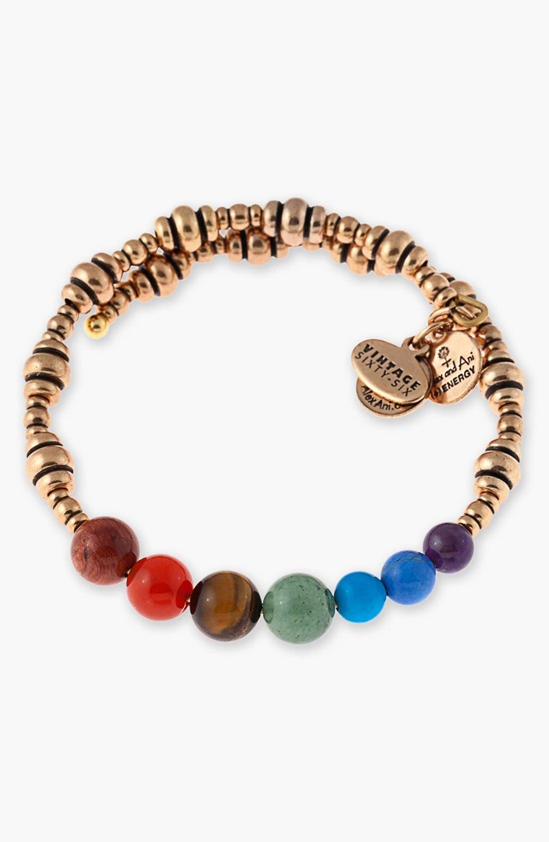 Alternate Image 1 Selected - Alex and Ani 'Journey' Wrap Bracelet
