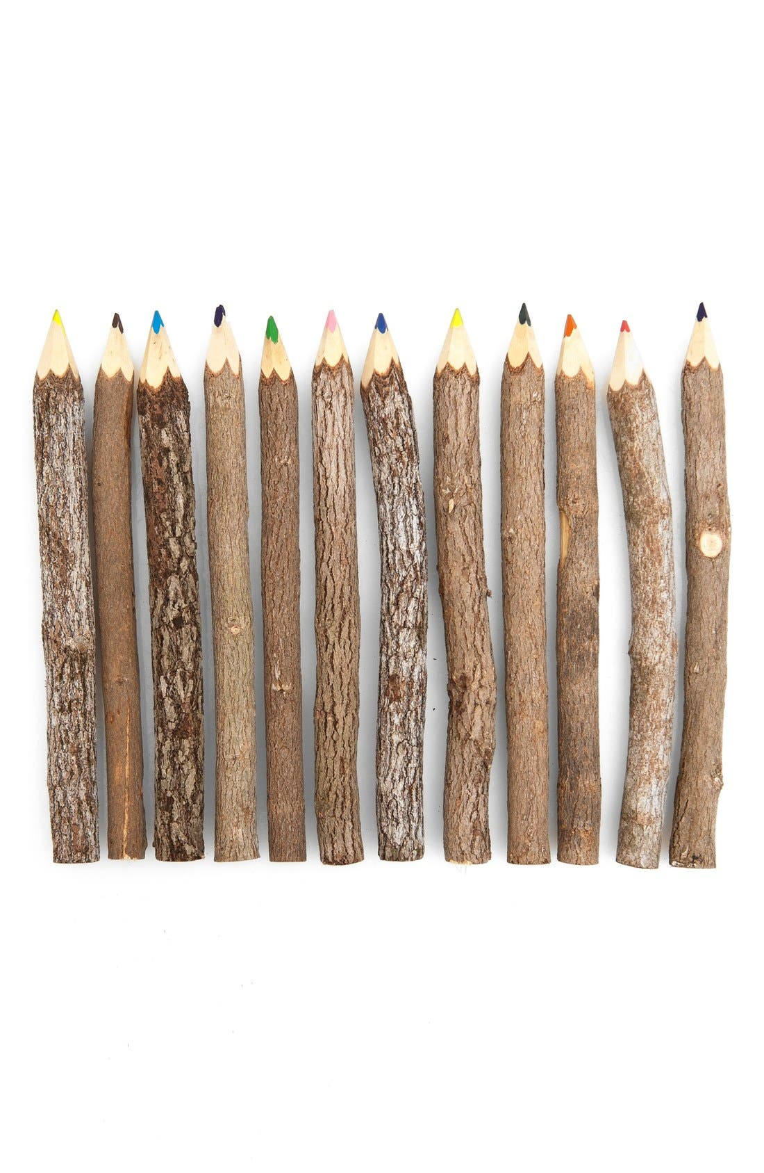 Alternate Image 2  - Poketo Reclaimed Branch Colored Pencils (Set of 12)