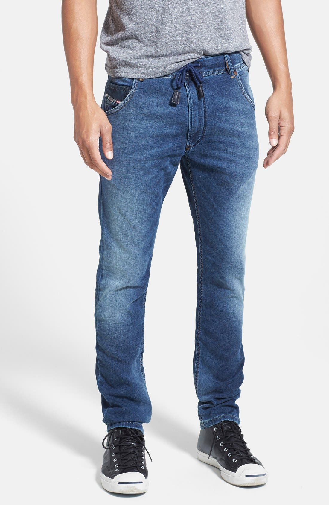 Main Image - DIESEL® 'Krooley - Jogg Jeans' Tapered Leg Sweatpants