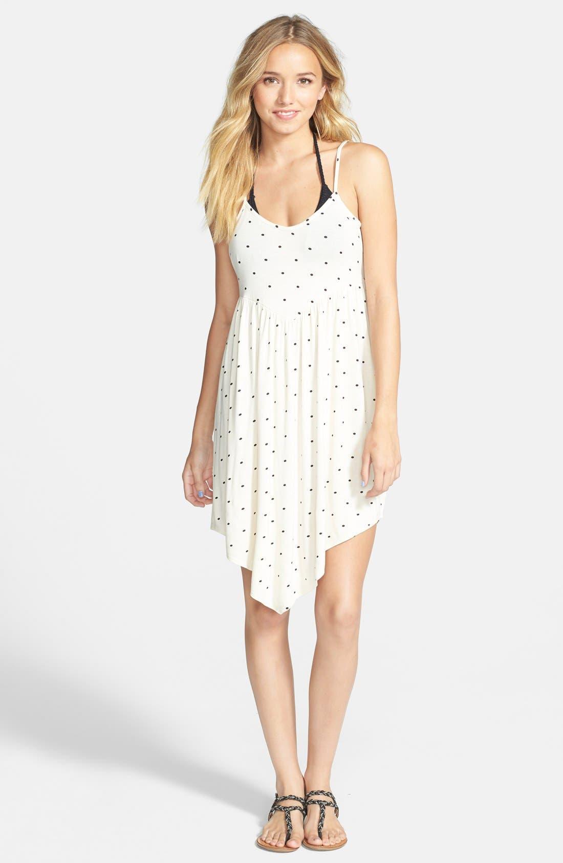 Alternate Image 1 Selected - Volcom 'Burn Free' Print Low Back Dress