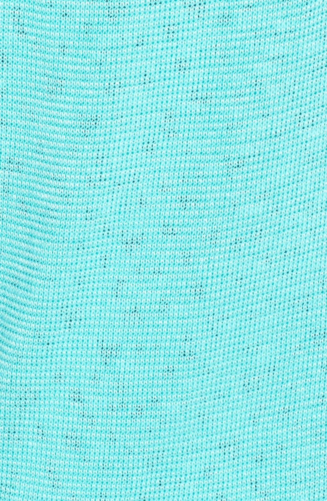 Alternate Image 3  - Olivia Moon Contrast Layer Knit Top (Regular & Petite)