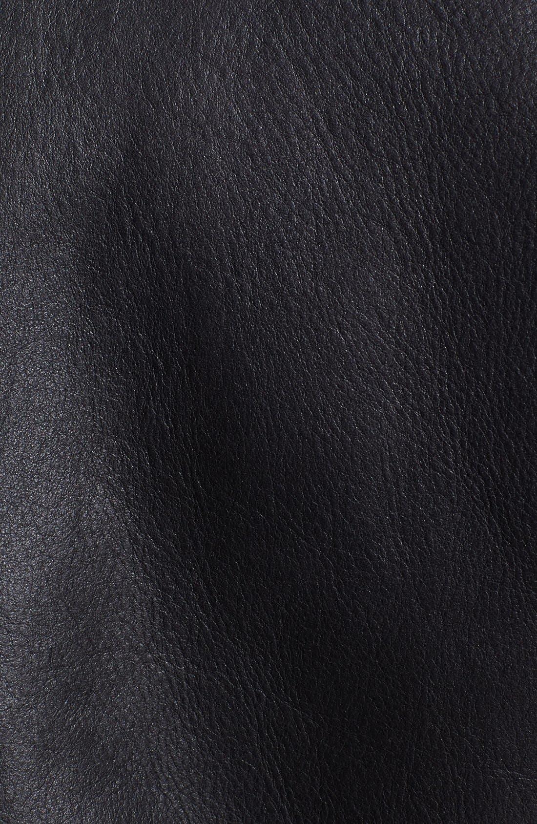 Alternate Image 4  - BLK DNM Genuine Lamb Shearling Aviator Jacket