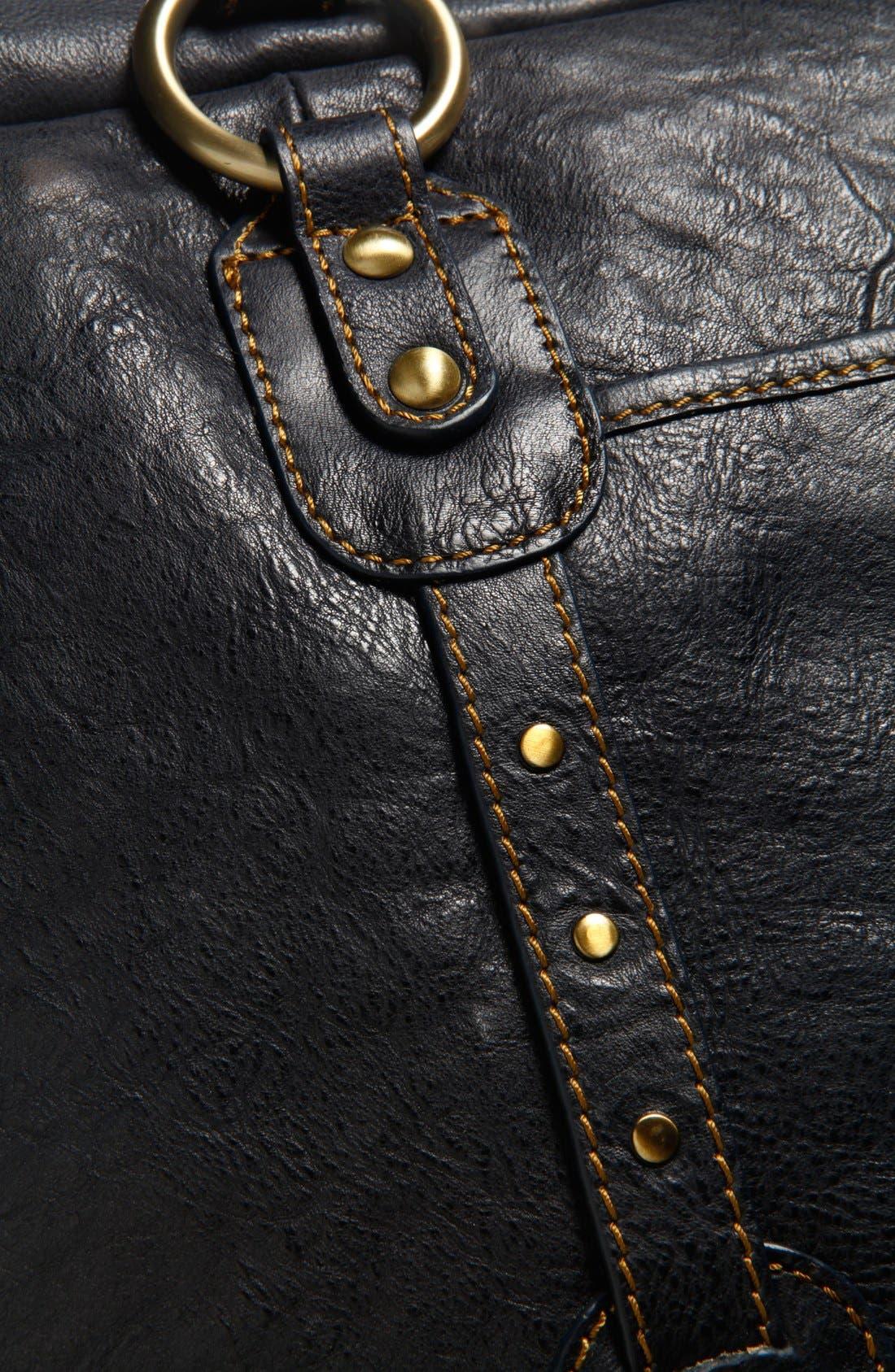 Alternate Image 2  - Storksak Elizabeth Leather Diaper Tote