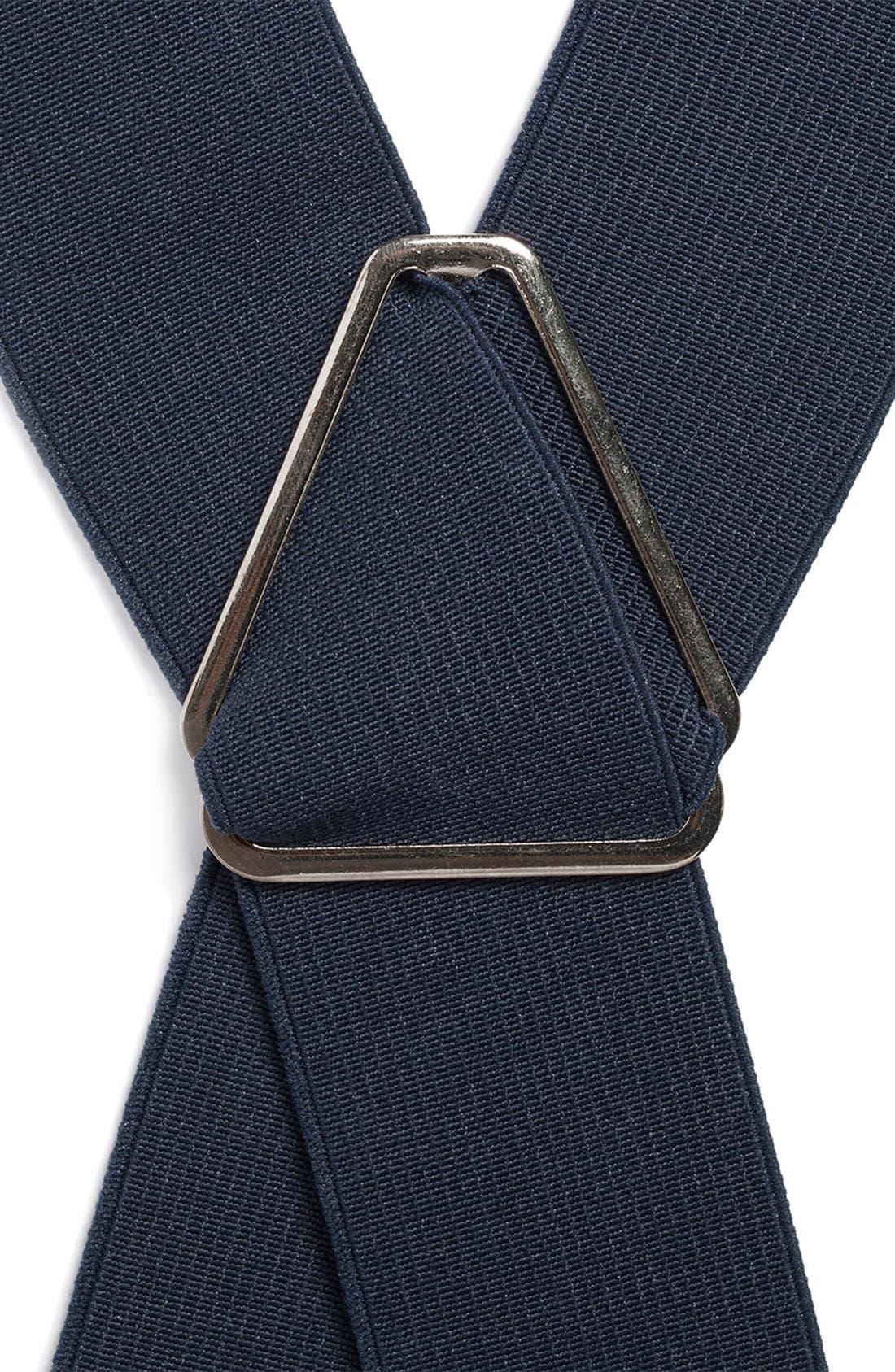 Alternate Image 2  - Topman Navy Suspenders