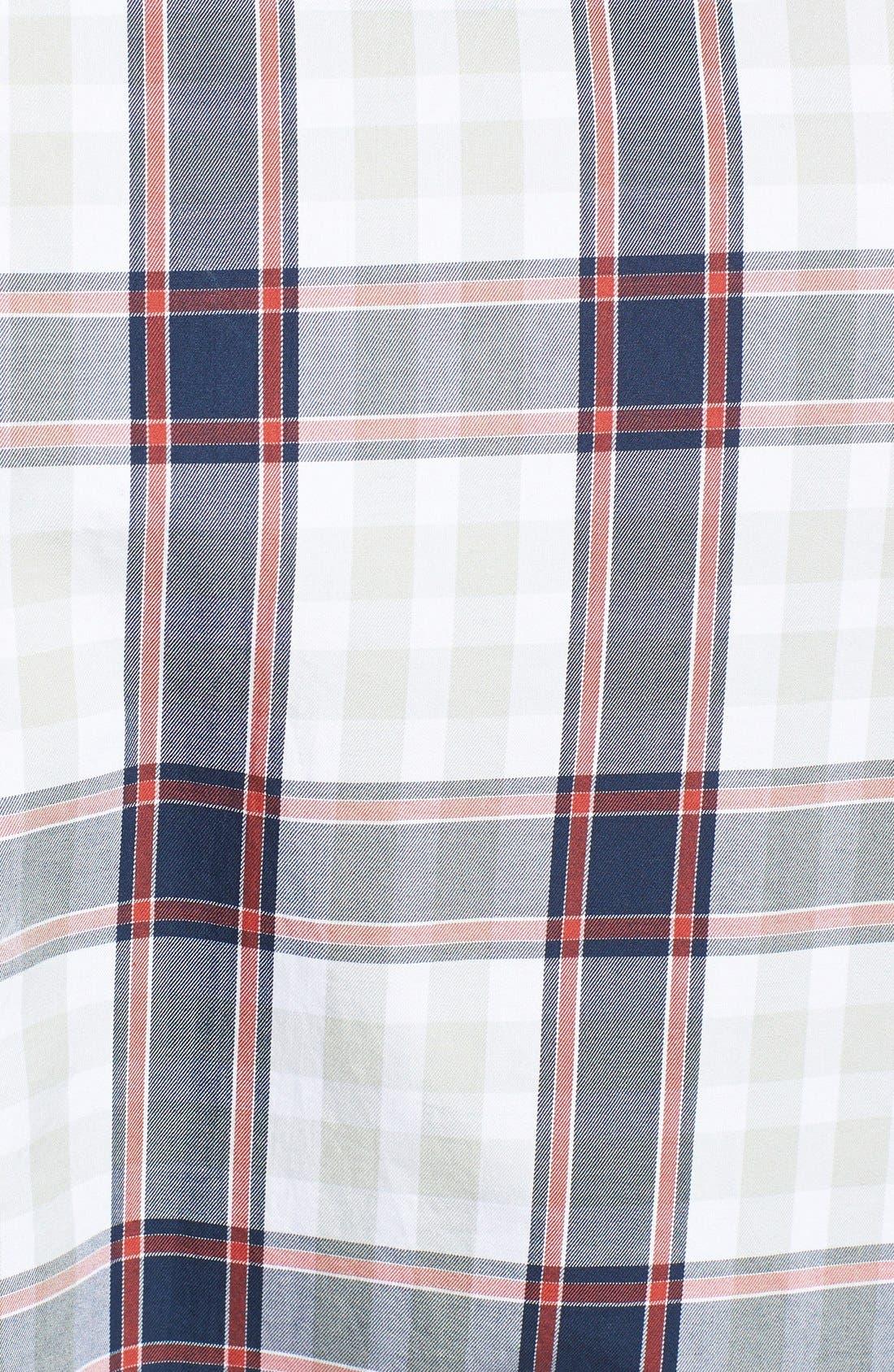 Alternate Image 2  - 7 Diamonds 'Rock Steady' Plaid Woven Shirt