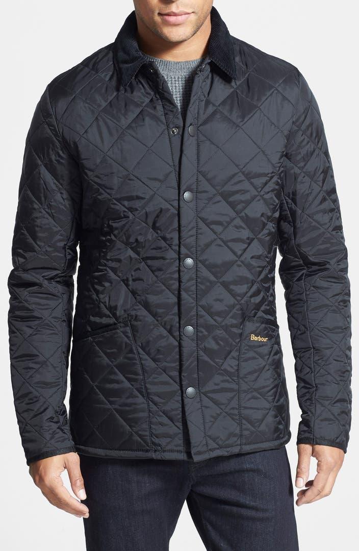 Barbour Heritage Liddesdale Slim Fit Quilted Jacket