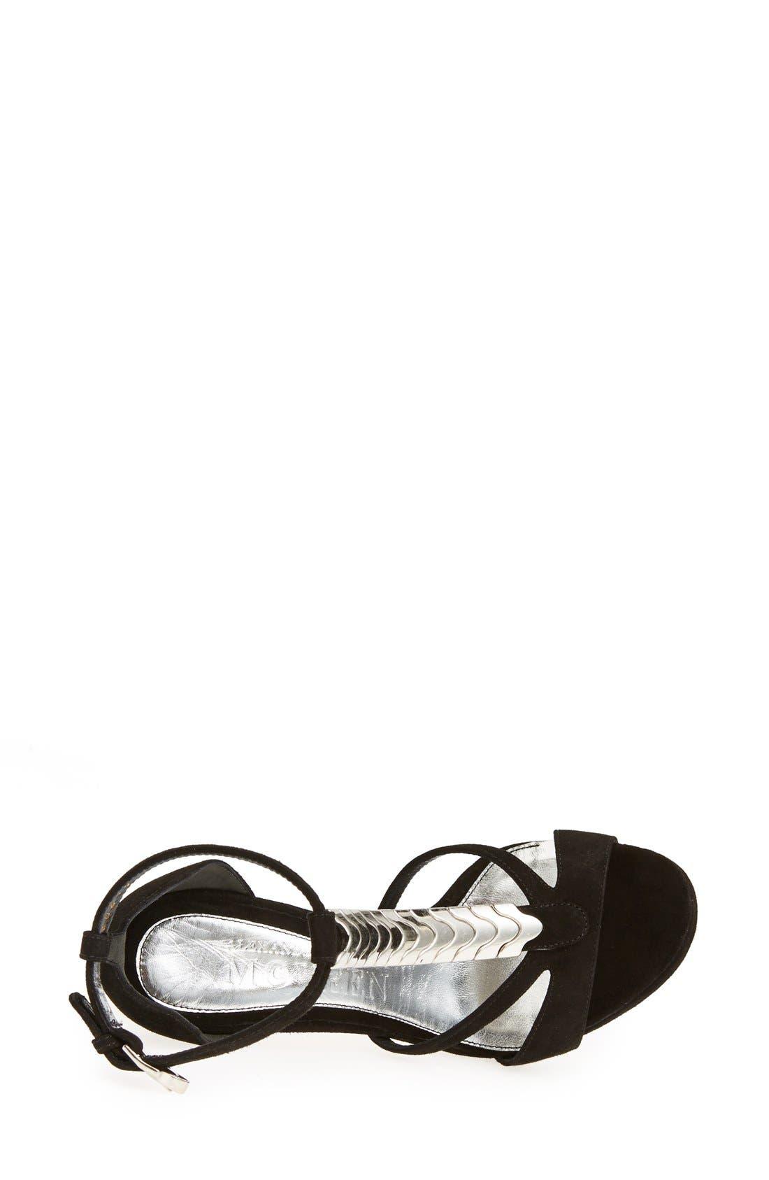 Alternate Image 3  - Alexander McQueen T-Strap Sandal (Women)