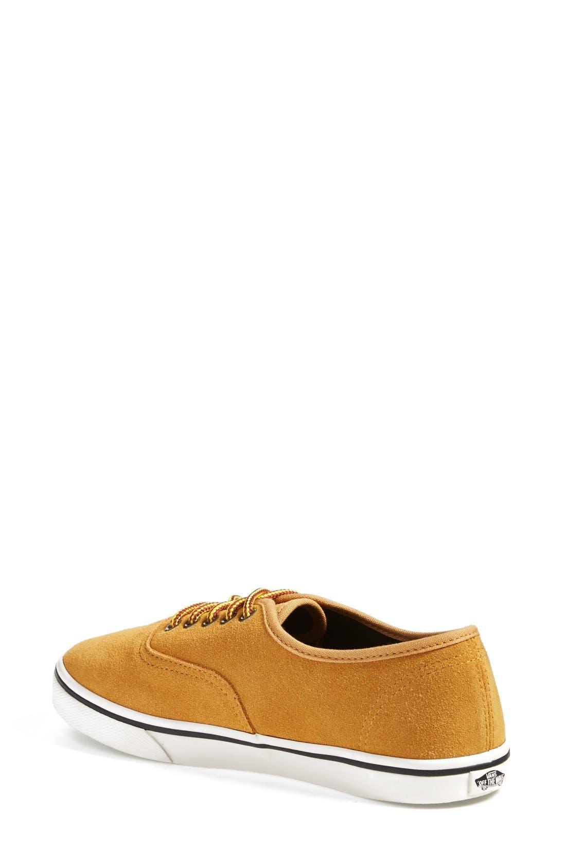 Alternate Image 2  - Vans 'Authentic - Lo Pro' Suede Sneaker (Women)