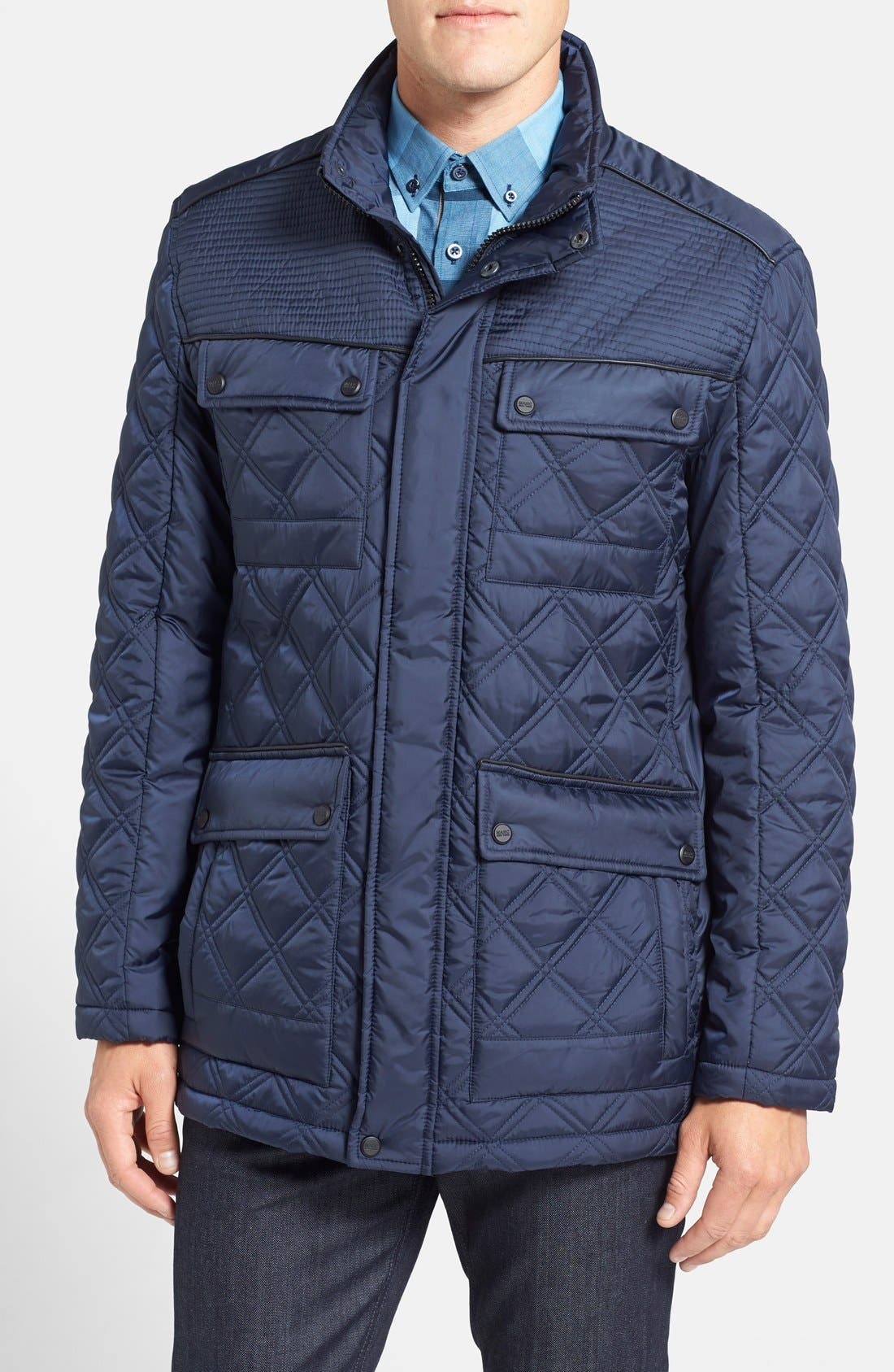 Alternate Image 1 Selected - Marc New York by Andrew Marc 'Patton' Quilted Field Jacket
