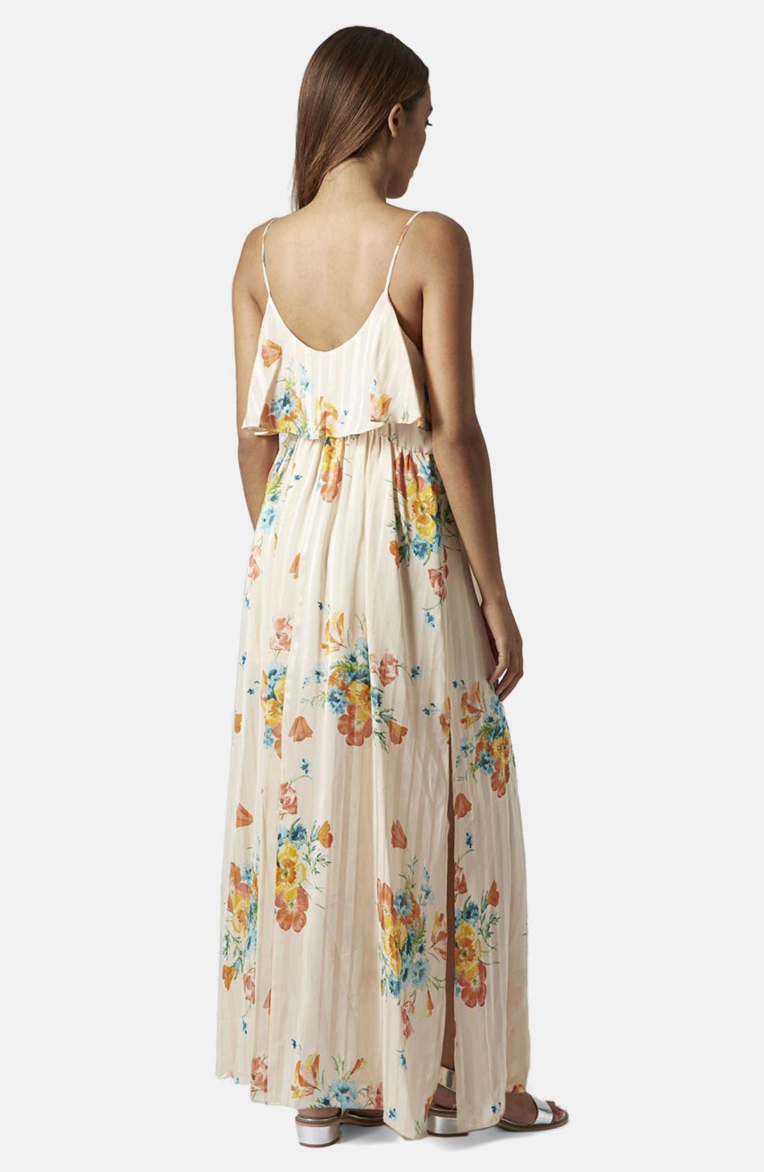 Alternate Image 2  - Topshop Floral Maxi Dress