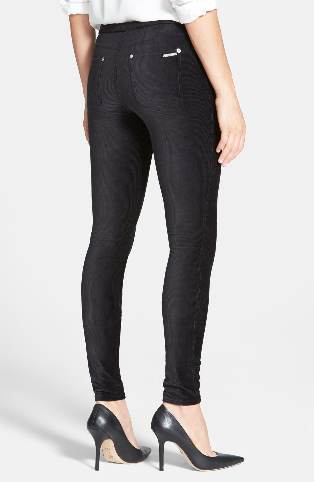 Alternate Image 2  - MICHAEL Michael Kors Stretch Corduroy Leggings (Regular & Petite)