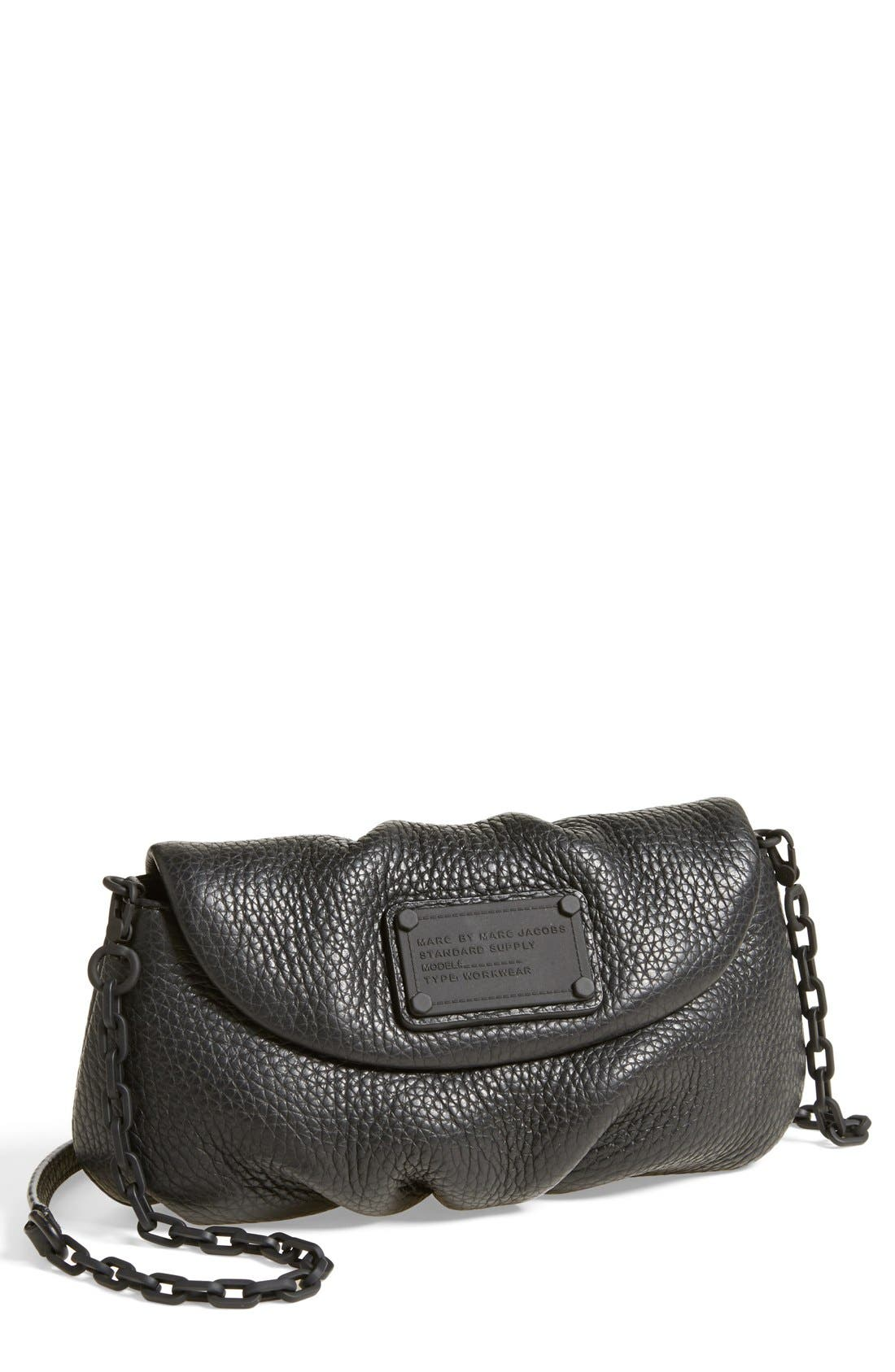 Alternate Image 1 Selected - MARC BY MARC JACOBS 'Electro Q - Karlie' Leather Crossbody Bag