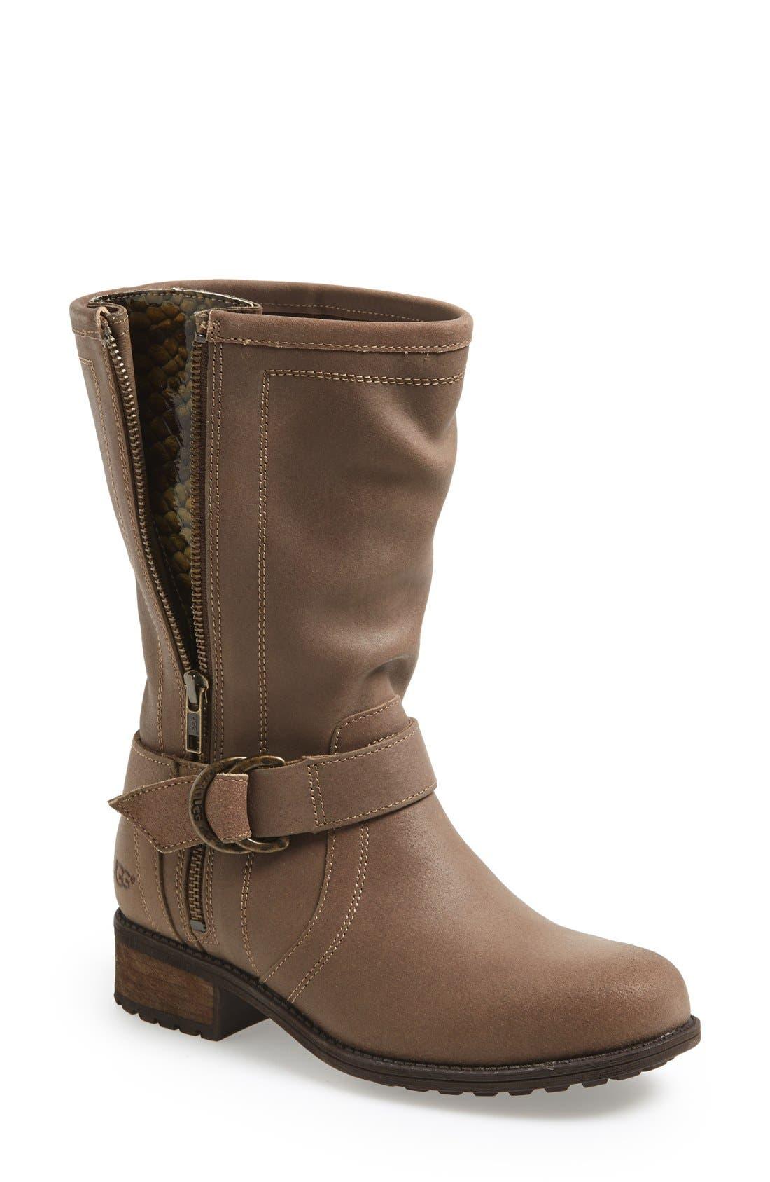Alternate Image 1 Selected - UGG® Australia 'Silva' Zip Gusset Boot (Women)