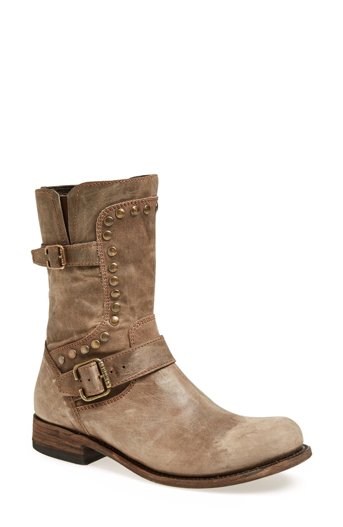 Alternate Image 1 Selected - Liberty Black 'El Paso' Studded Boot (Women)