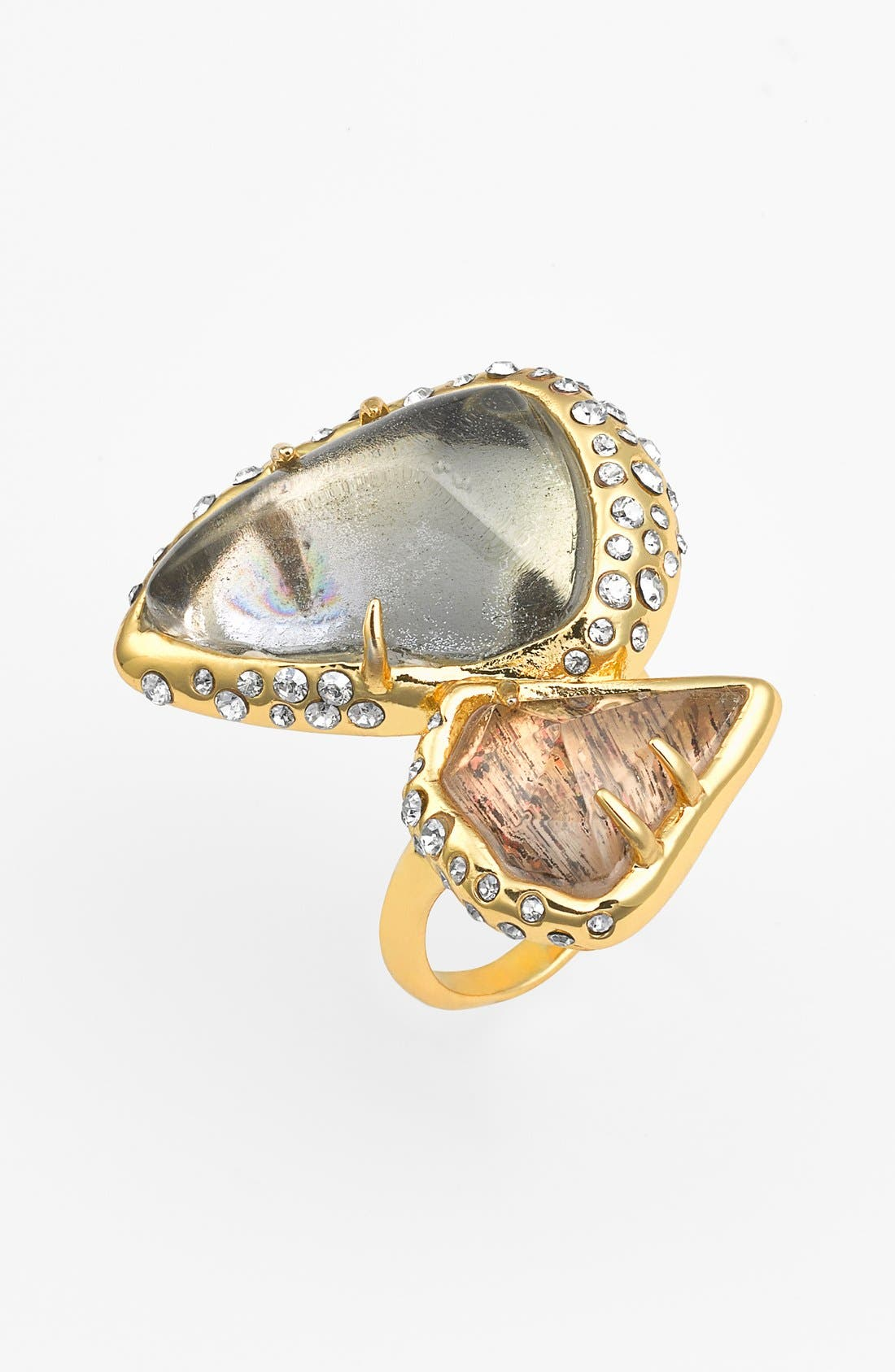 Alternate Image 1 Selected - Alexis Bittar 'Miss Havisham - Kinetic Gold' Cluster Ring
