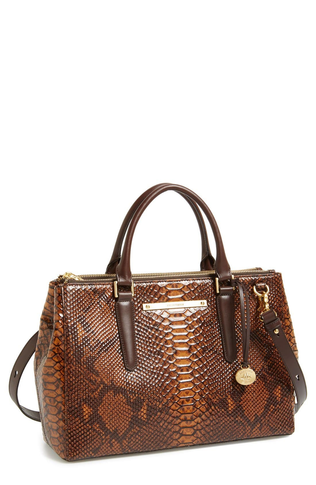 Alternate Image 1 Selected - Brahmin 'Small Lincoln' Leather Shopper