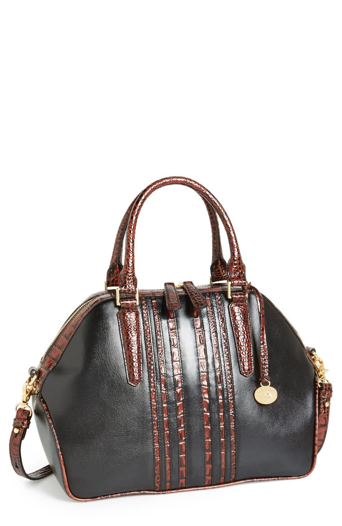 Alternate Image 1 Selected - Brahmin 'Hudson' Leather Satchel