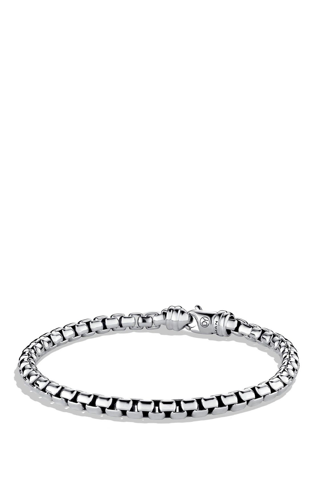 'Chain' Large Link Box Chain Bracelet,                         Main,                         color, Silver