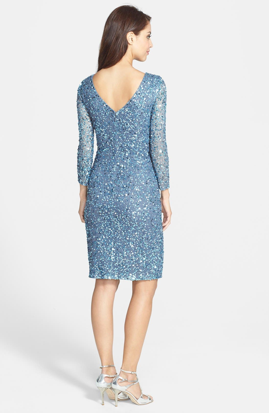 Alternate Image 2  - JS Collections Sequin Dress