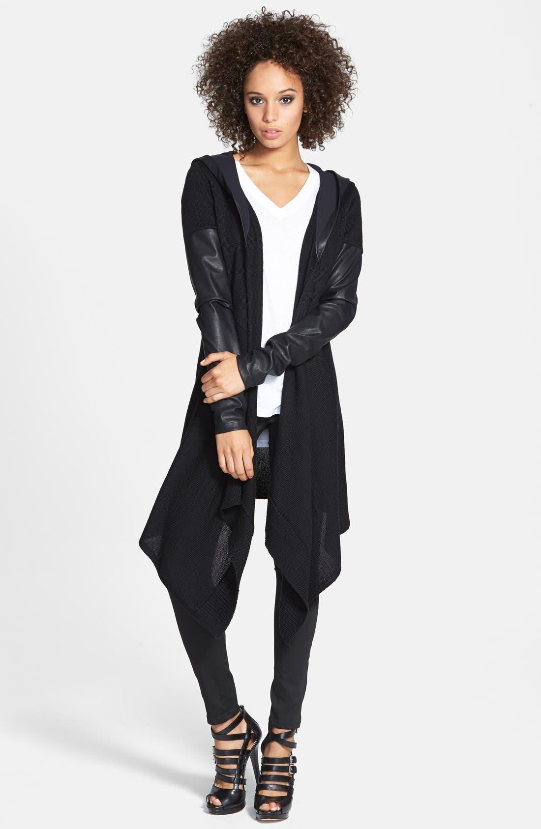 Main Image - BLANKNYC Draped Jacket