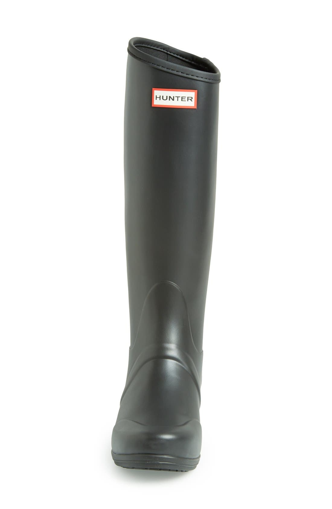 Alternate Image 3  - Hunter 'Sandhurst' Tall Rain Boot (Women)