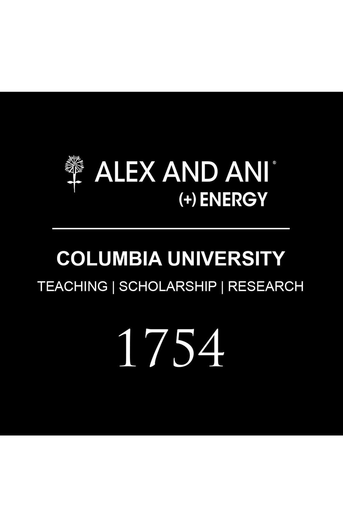 Alternate Image 2  - Alex and Ani 'Collegiate - Columbia University' Expandable Charm Bangle