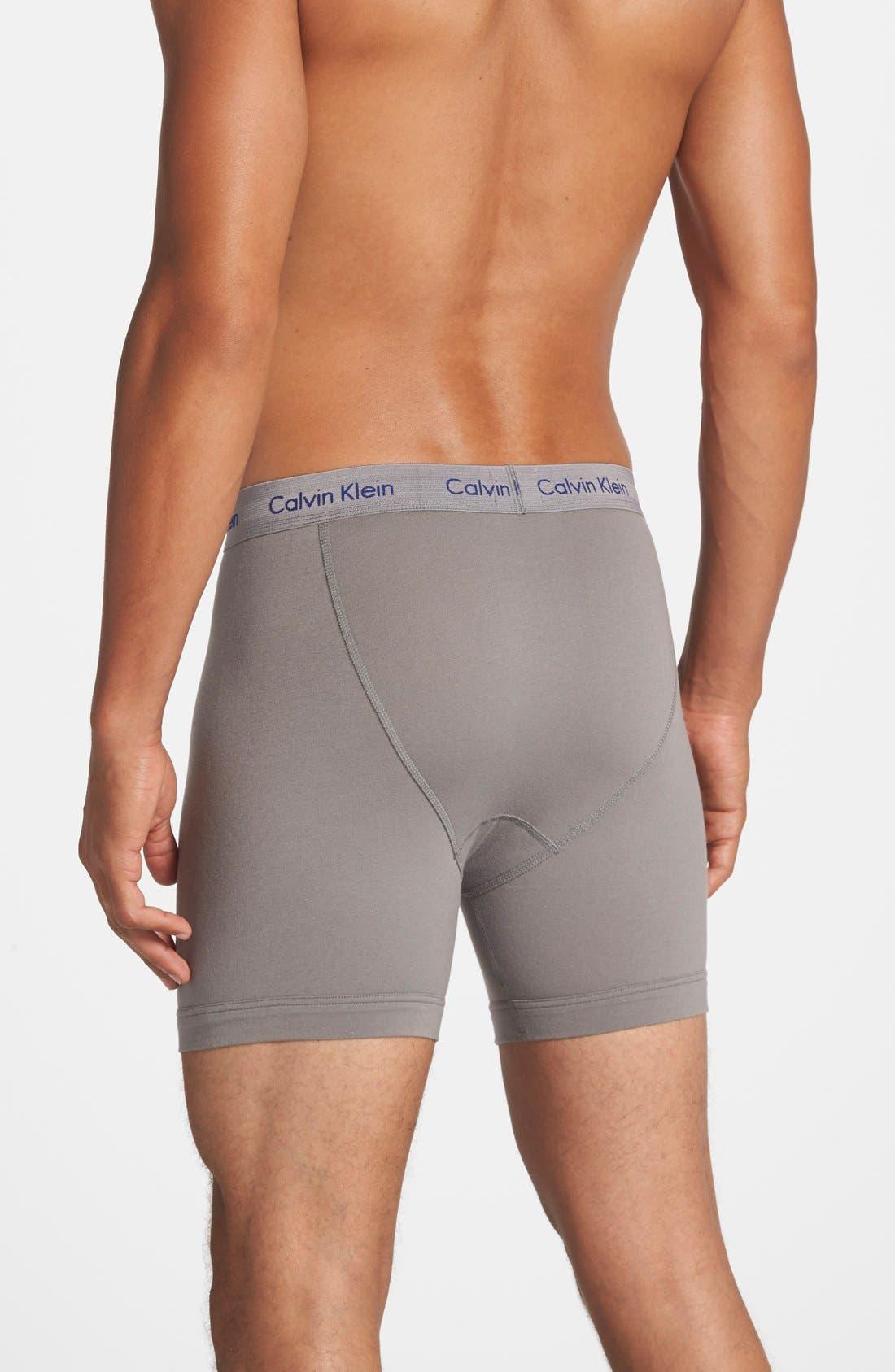 Alternate Image 2  - Calvin Klein 3-Pack Boxer Briefs