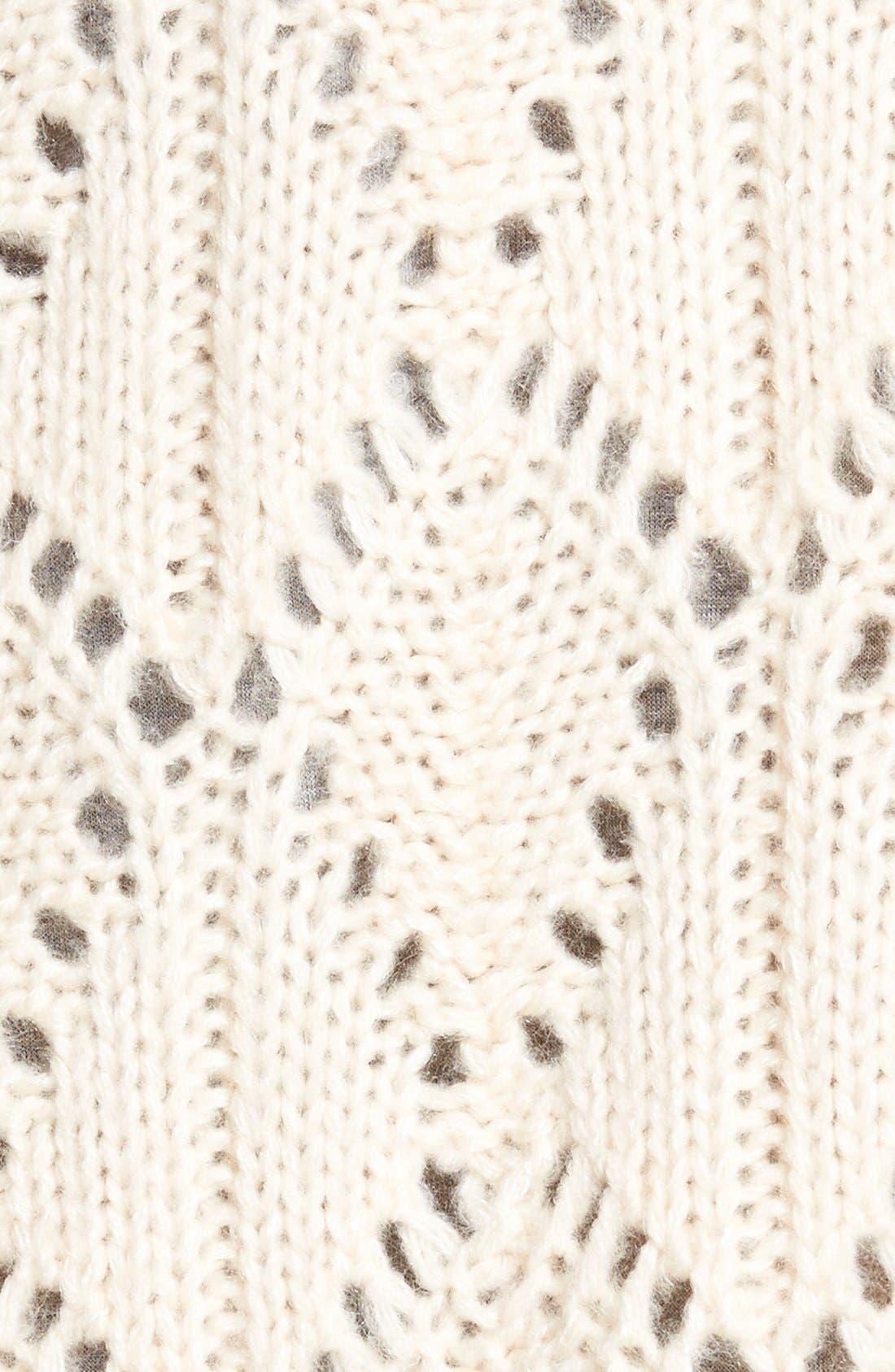 Alternate Image 3  - Hinge Ruffle Hem Sweater