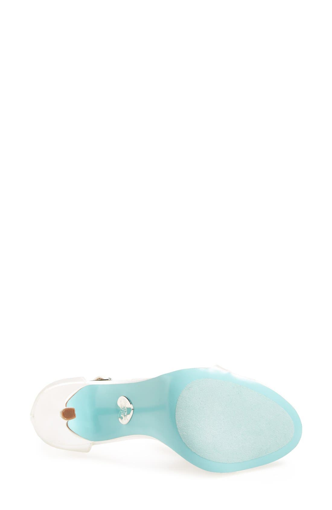 Alternate Image 4  - Blue by Betsey Johnson 'Mesh' Sandal (Women)