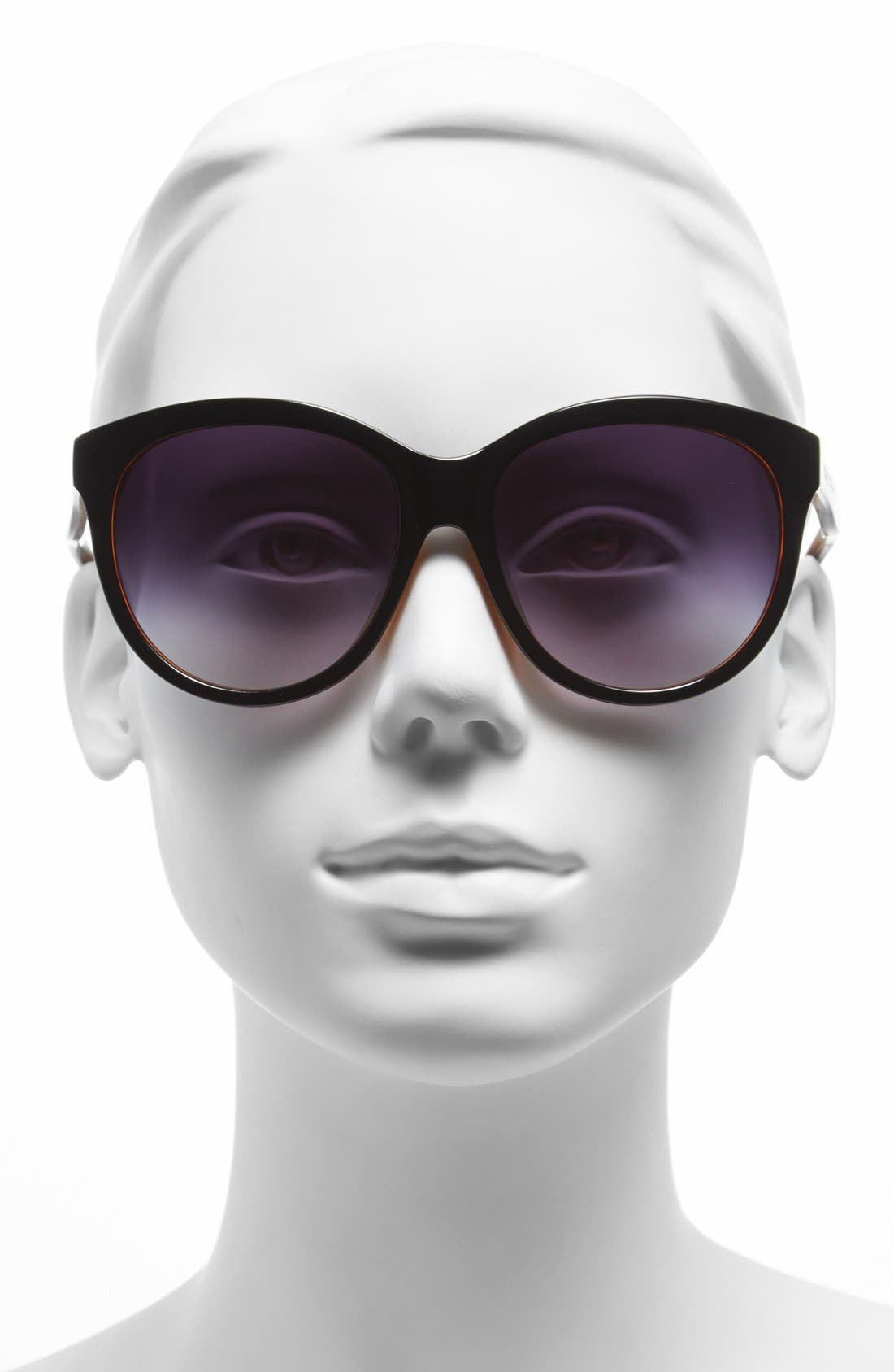 Alternate Image 2  - Elie Tahari 57mm Cat Eye Sunglasses