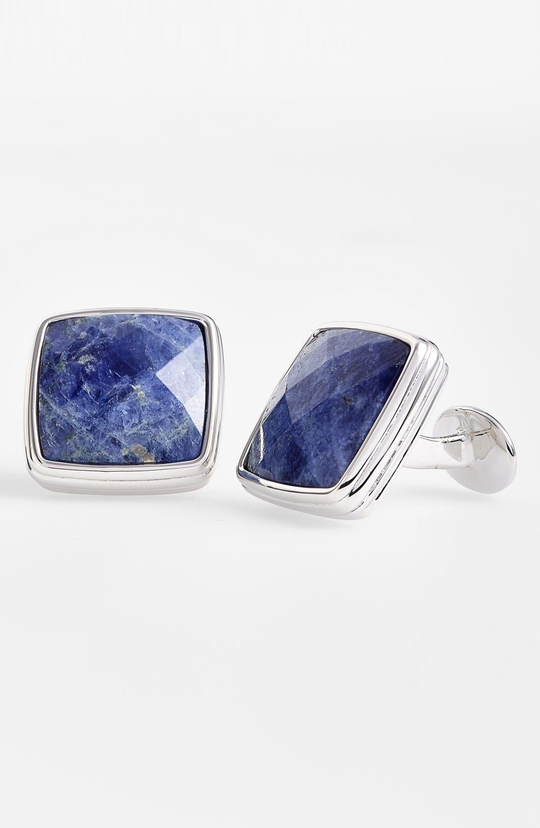 DAVID DONAHUE Semiprecious Stone Cuff Links