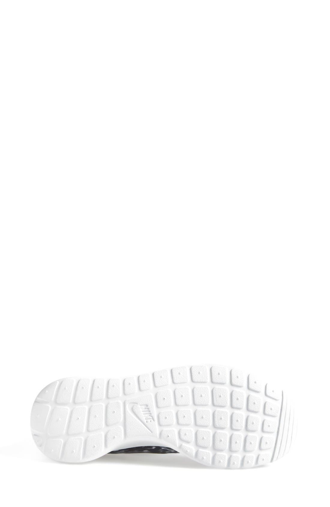 Alternate Image 4  - Nike 'Roshe Run' Print Sneaker (Women)