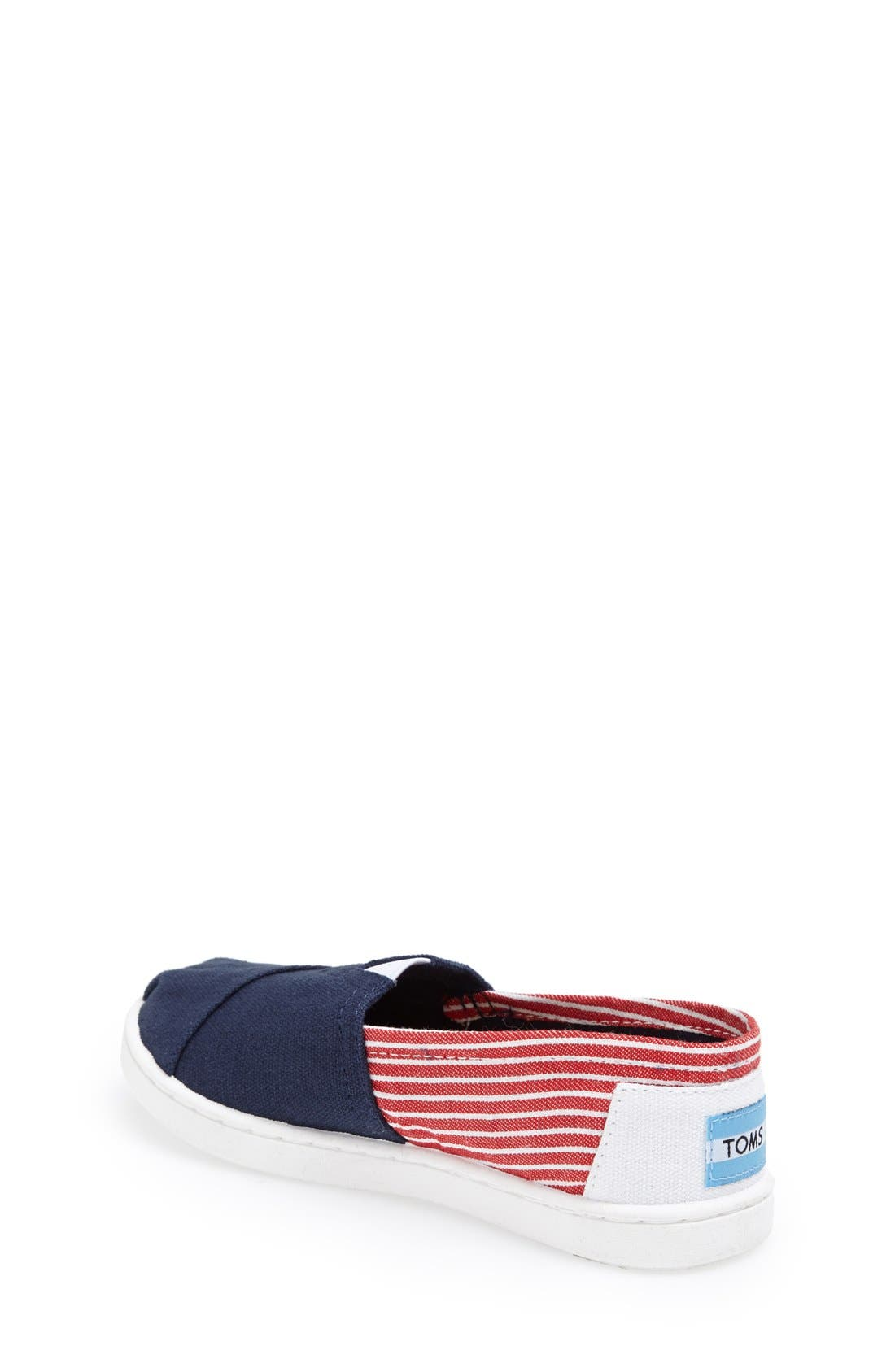 Alternate Image 2  - TOMS 'Youth Classic - Freedom' Slip-On (Toddler, Little Kid & Big Kid)