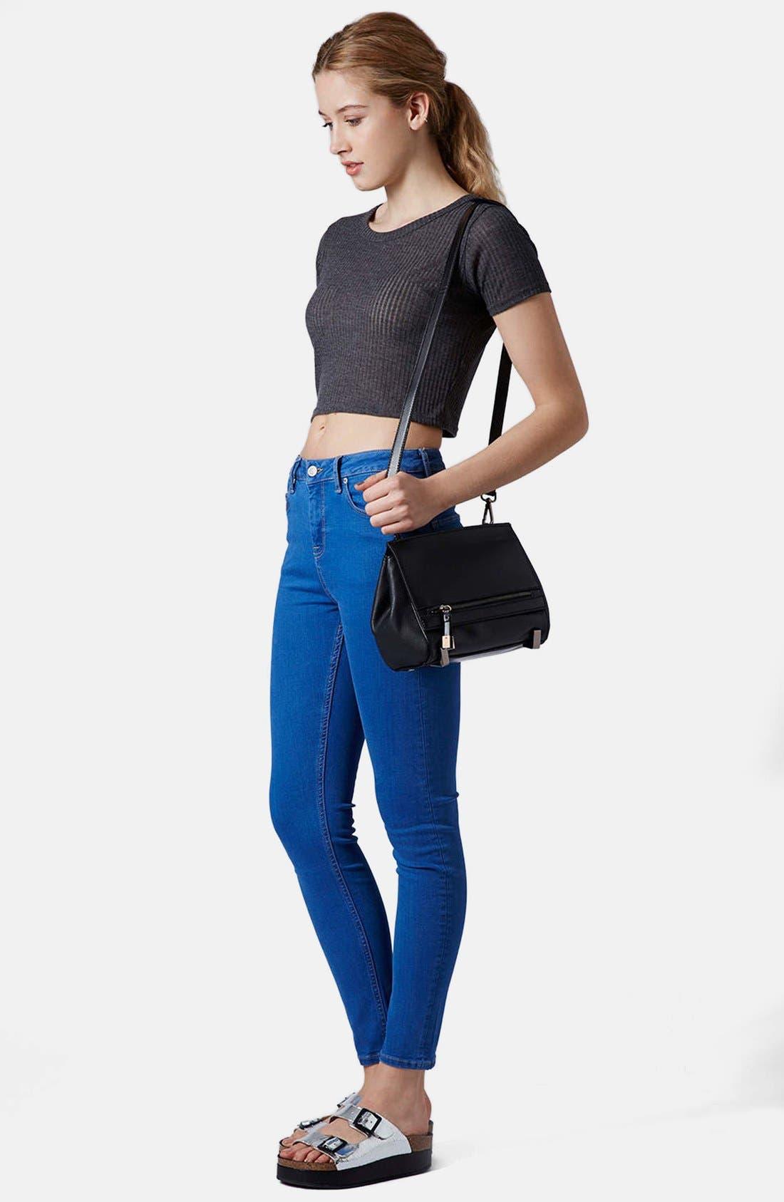 Alternate Image 2  - Topshop Crossbody Bag