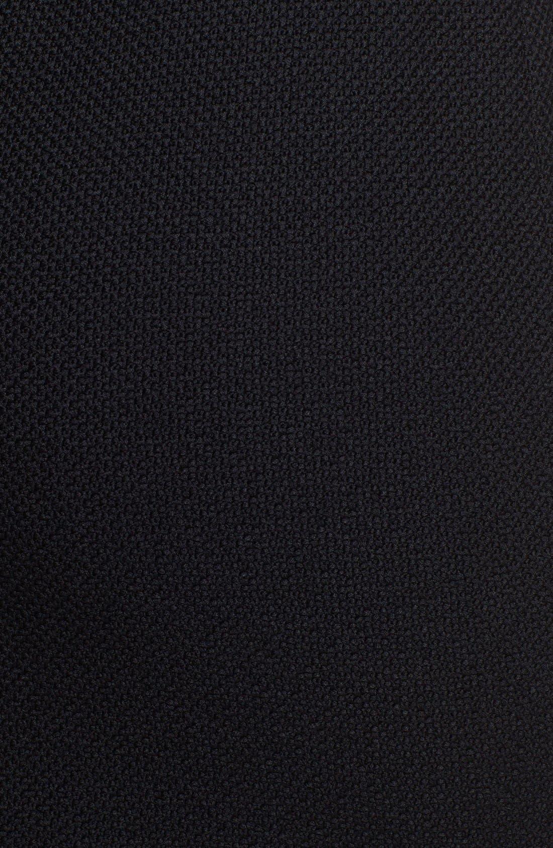 Nouveau Bouclé Knit Skirt,                             Alternate thumbnail 3, color,                             Caviar