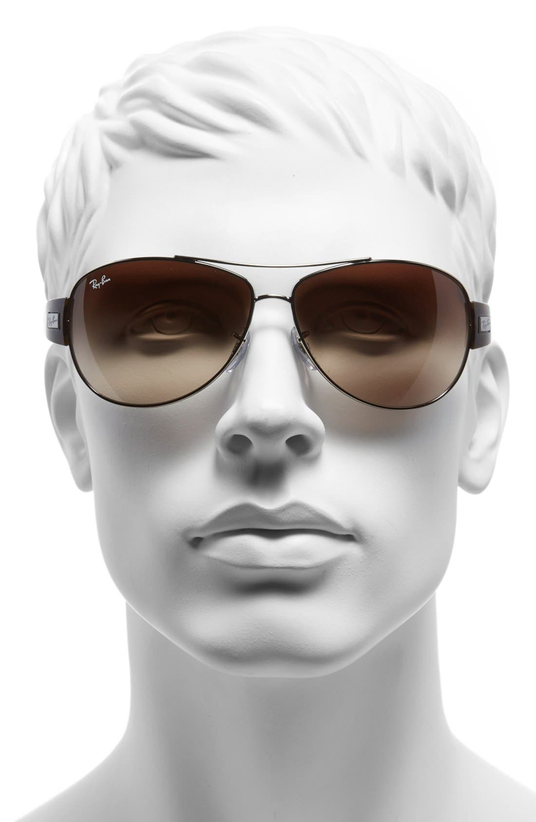 Alternate Image 2  - Ray-Ban 'Morphed' 63mm Aviator Sunglasses