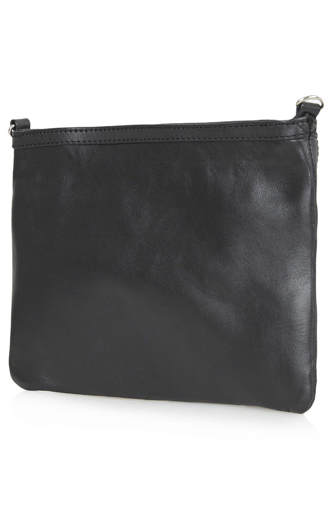 Alternate Image 3  - Topshop Floral Tassel Crossbody Bag