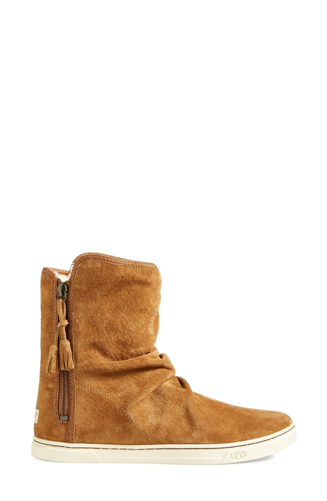 Alternate Image 7  - UGG® Australia 'Becky' Water Resistant Suede Boot (Women)