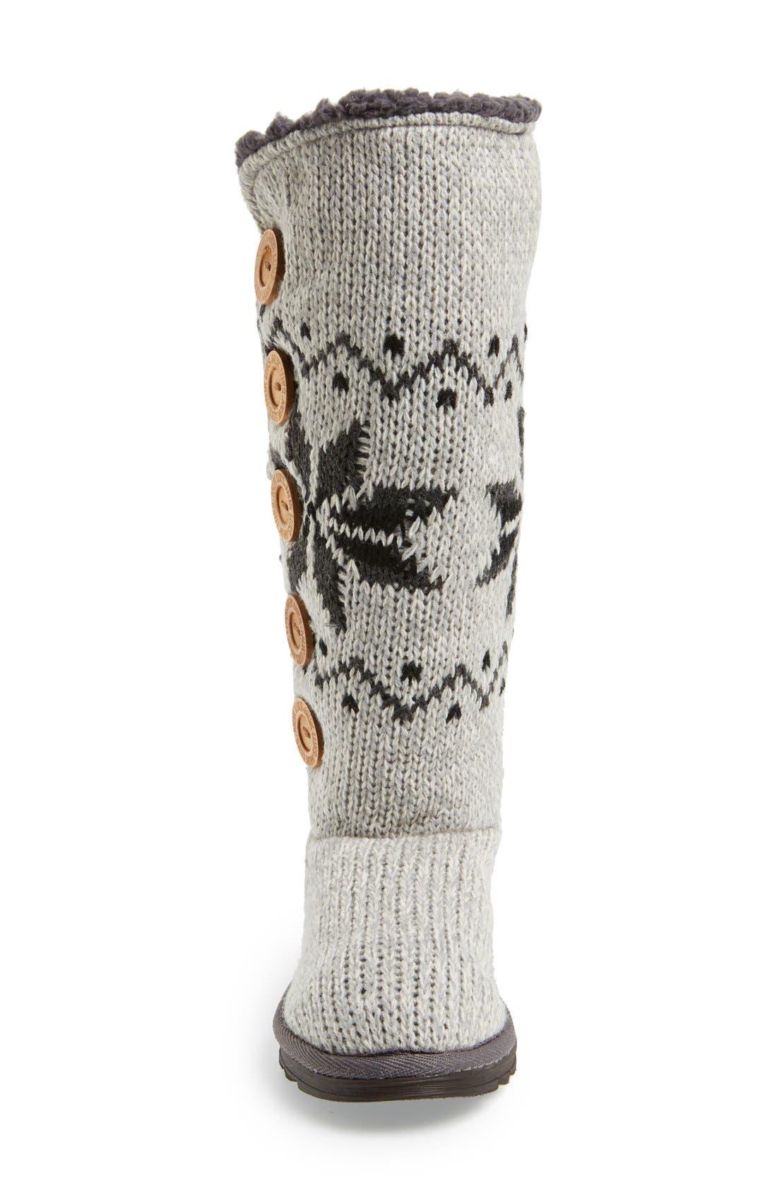 Alternate Image 3  - MUK LUKS 'Malena' Button Up Crochet Boot (Women)